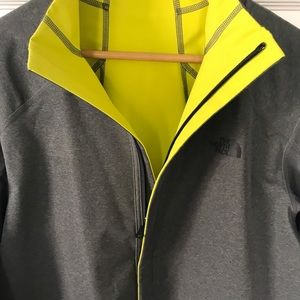 North face reversible shell